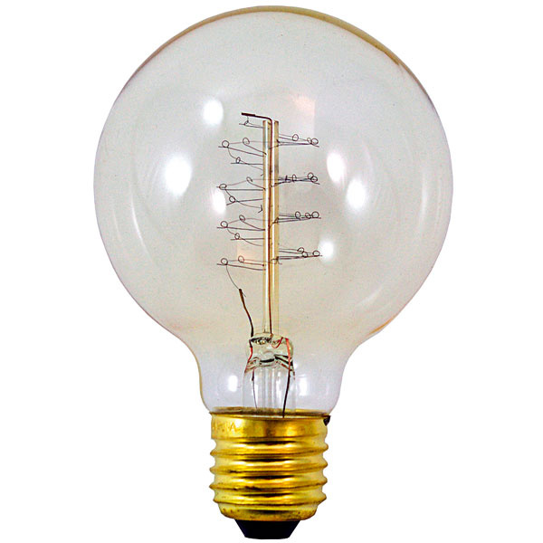 Dekoratívna žiarovka NUD GLOBE 80, 22 €, www.chooze.sk