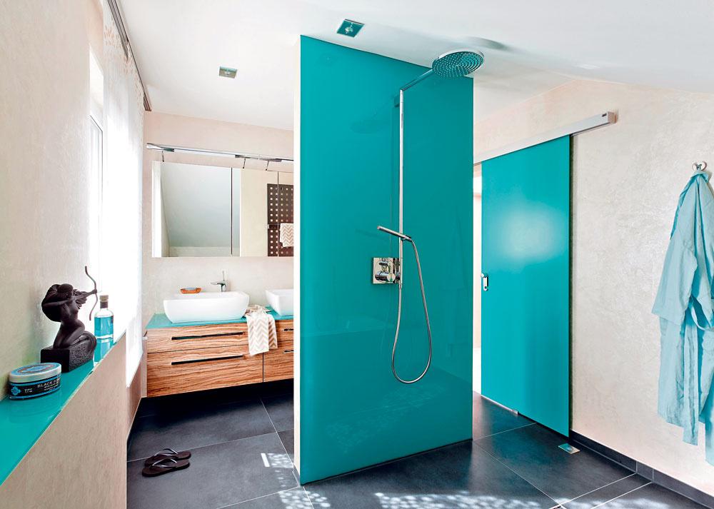 Rekonštrukciou získali bezbariérovú kúpeľňu, ktorá je nenáročná na údržbu