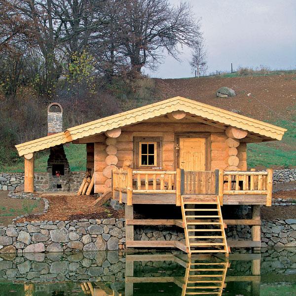 Ak sa rozhodnete pre drevenú chatu