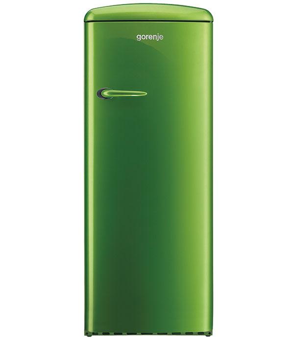 Gorenje RB 60299 ORD, jednodverová chladnička z kolekcie RETRO, energetická trieda A++, antibakteriálna ochrana a automatické odmrazovanie chladiacej časti, 799 €