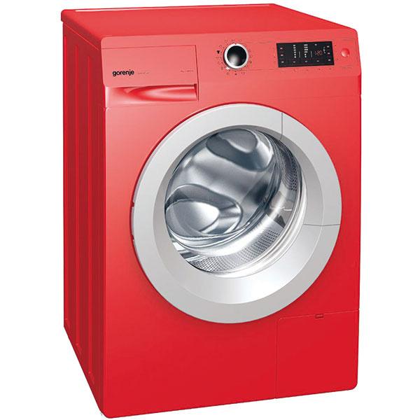 Gorenje W7443LR, automatická voľne stojaca práčka, dizajnová kolekcia R.E.D. set, energetická trieda A –30 %, 23 programov, 471 €