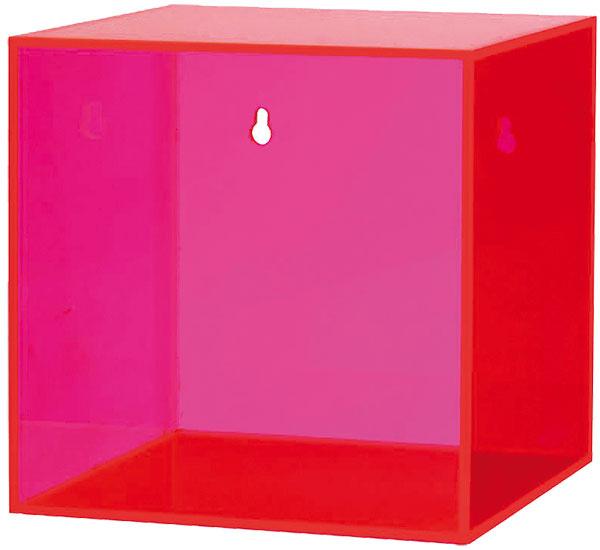 Závesný box Neon pink, Bloomingville, 20 × 20 × 20 cm, 76,20 €, www.nordicday.sk
