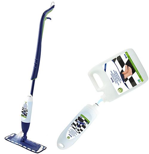 System Bona Spray Mop na čistenie keramickej dlažby, marmolea, vinylu, kameňa