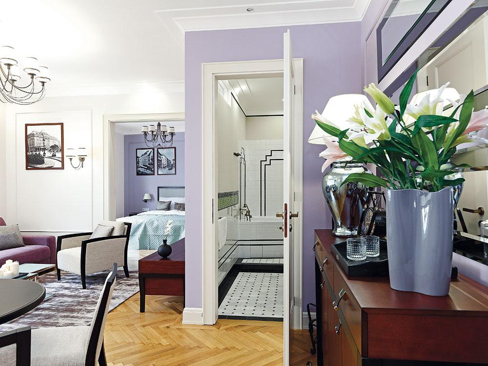 Rekonštrukciou vrátili 3-izbovému bratislavskému bytu eleganciu starých čias