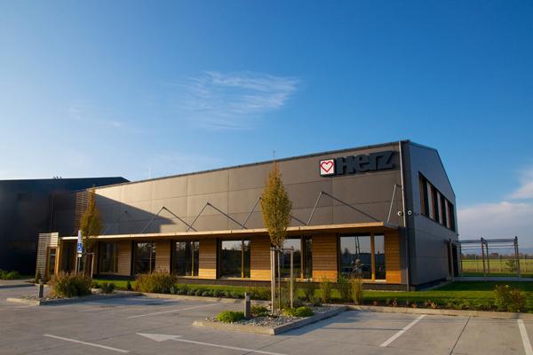 Logistické administratívne a školiace centrum Herz Slovensko