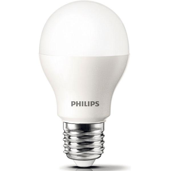 Philips LED Žiarovka, 9,5 W (60 W), pätica E27, teplá biela (2 700 K), svetlo okamžite po zapnutí, životnosť až 25 rokov (25000 hodín), 50000 spínacích cyklov, energetická účinnosť A+, 13,99 €