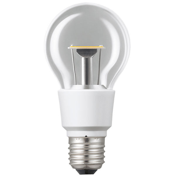 Panasonic Nostalgic Clear LED, 6,4 W (40 W), pätica E27, teplá biela (2700 K), priesvitná žiarovka, svetlo okamžite po zapnutí, životnosť 40 rokov (40000 hodín), 100000 spínacích cyklov, energetická účinnosť A16,99 €