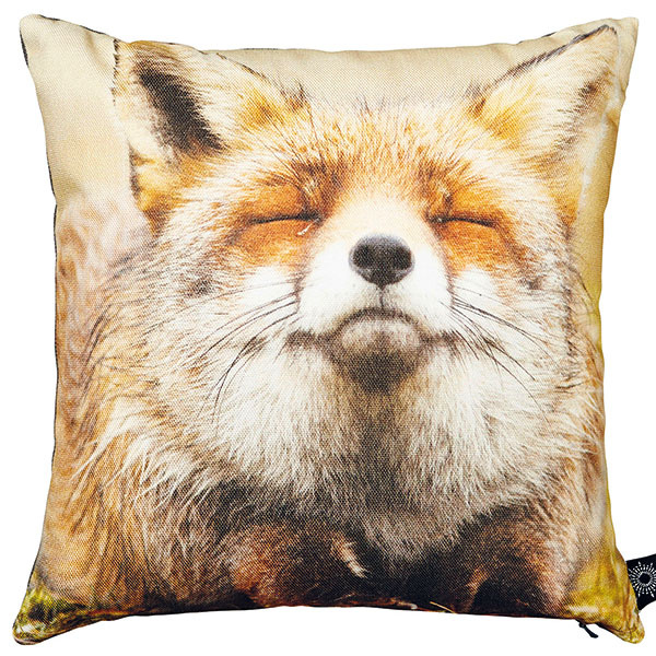 Happy fox (šťastná líška), 40 × 40 cm, 54 €, www.bynord.com