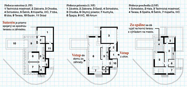 Domov 4-člennej rodiny sa zo štandardnej zástavby vymyká vzhľadom i materiálmi