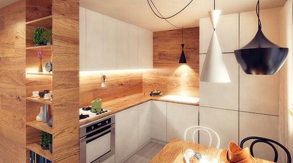 Návrh rekonštrukcie bytu čitateľky od jadra po kuchyňu