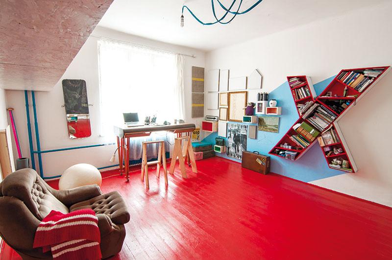 Uletený byt kreatívneho Prešovčana