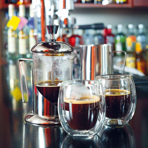 S french pressom získate plnú chuť kávy pomerne jednoducho