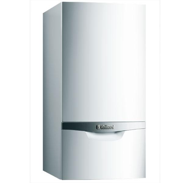 Kondenzačný kotol EcoTEC plus VU 80 – 120 kW na vykurovanie na zemný plyn scertifikovanou sústavou odkúrenia amožnosťou zapojenia do kaskády až šiestich kotlov do celkového výkonu 720 kW, normálová účinnosť 108 %, www.vaillant.sk