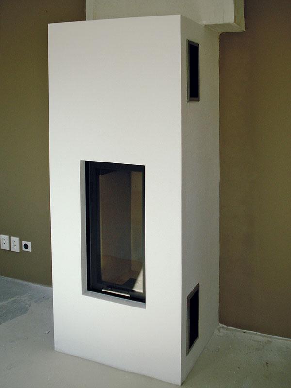 7 Celá stavba smaximálnou odchýlkou 1mm na dĺžku 2 m (pre umiestnenie vrámci nábytkovej steny). Základom úspechu pri podobných konštrukciách je kvalitné zameranie aprecízna práca.