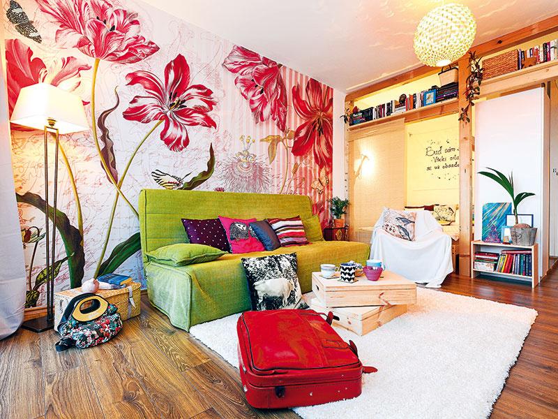 Premena zbytočne veľkej obývačky s rozpočtom 1 800 €