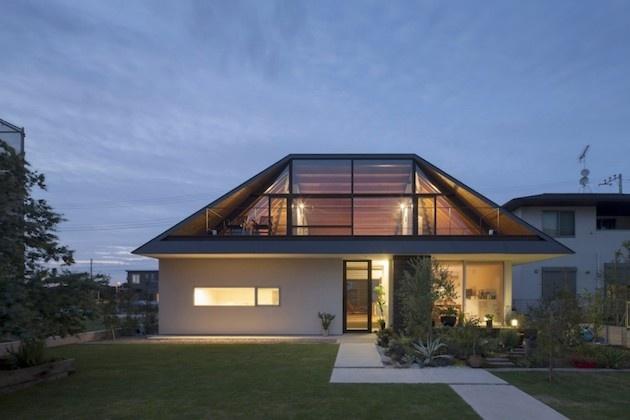 Rodinný dom si postavili v štýle tradičných japonských domov