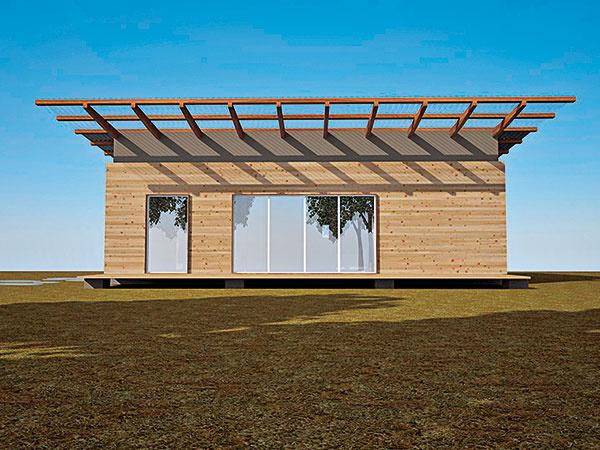 Svojpomocná stavba obnoviteľného domu – diel 2.