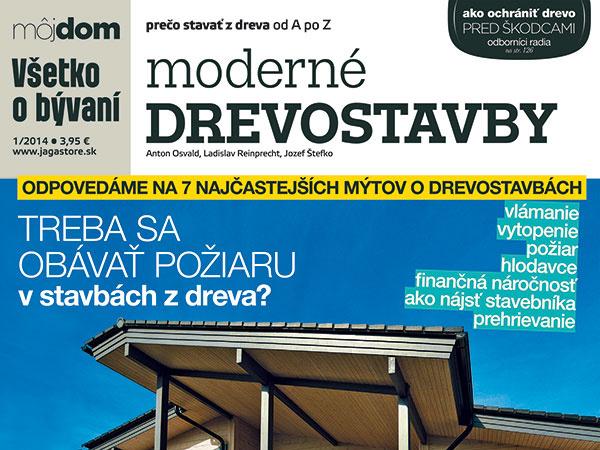 Publikácia Moderné drevostavby v predaji