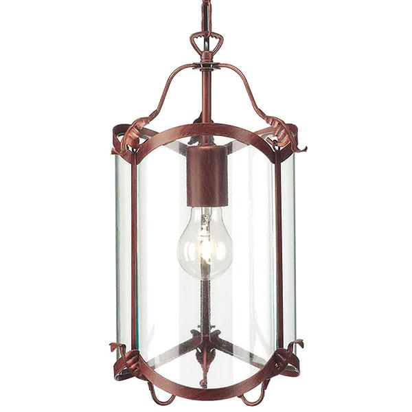 Massive Fano zo skla a mosadze, rustikálny vzhľad, priemer 22 cm, výška 22 cm, 50 €, Philips