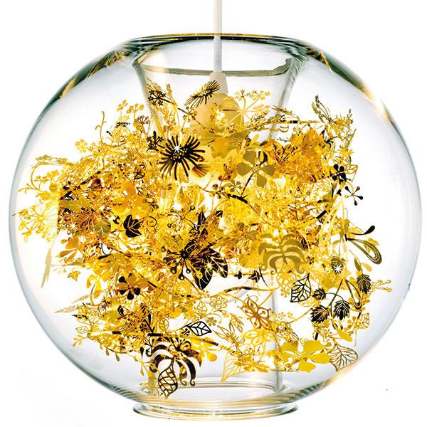 Tangle Globe, priemer 25 cm, výška 23 cm, 520 €, www.rendl.sk