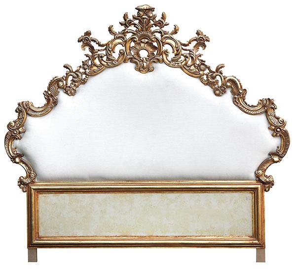 3 Biele barokové čelo, 200 × 200 cm, hmotnosť 20 kg, 835 £, baroque-baroque.com