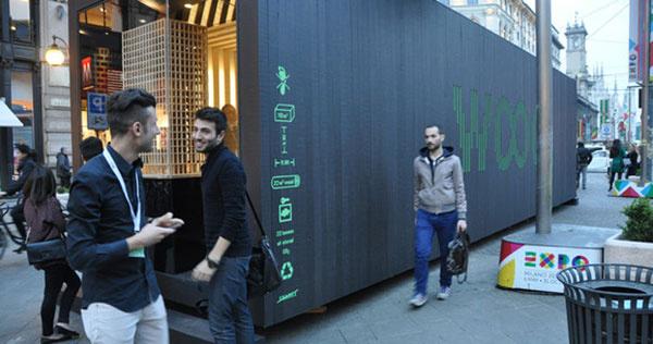 Architektúra z dreva patrí aj do centier miest
