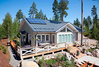 Škandinávsky dizajn vládne i strechám a fasádam