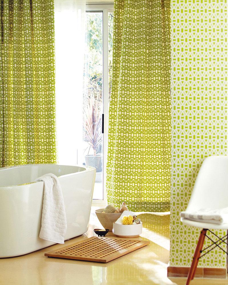 Značka Scion vkolekcii tapiet atextílií Melinki predstavila produkty založené na ekologickej báze, ktorá je dotiahnutá do detailu nielen vmateriáloch, ale aj vo vzoroch. (Predáva Cymorka Interior Design.)