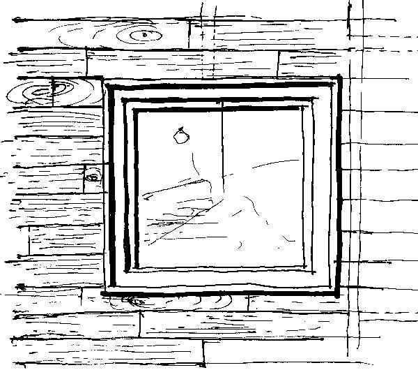 Fasáda domu je znaolejovaného smrekového dreva. (perovka: Juraj Tesák)