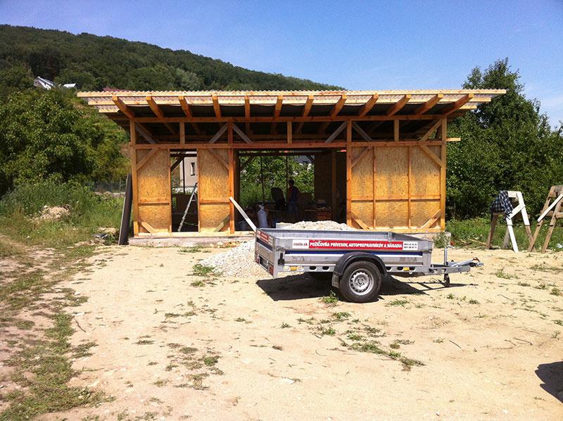 Svojpomocná stavba obnoviteľného domu – diel 5.