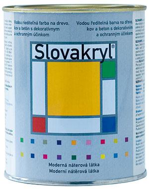 Náterová farba Slovakryl, Slovlak