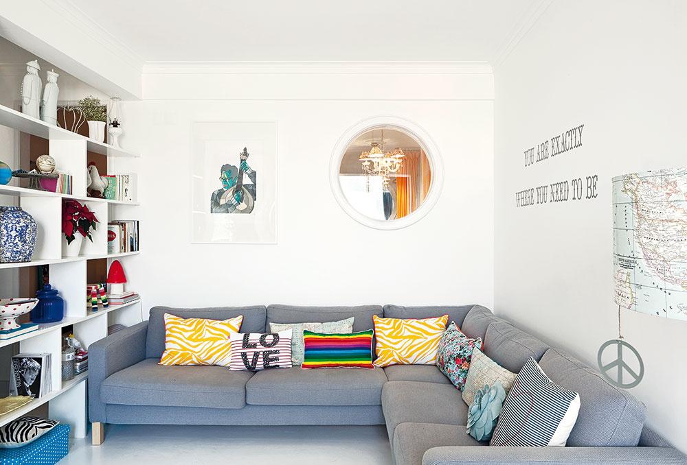 Ako zdvojnásobili priestor novozakúpeného malého bytu