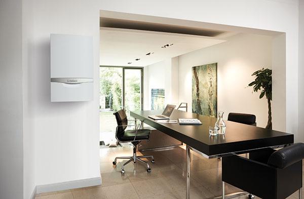 Kotol ecoTEC plus má moderný dizajn, vďaka ktorému zapadne do každého interiéru