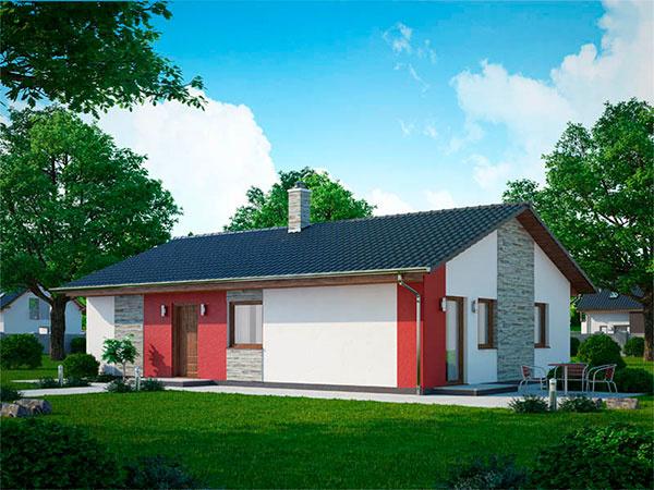 Kristína 18  Kristína 18 je nízkoenergetický prízemný rodinný dom o veľkosti 4 + KK. Úžitková plocha tohto domu je 73 m2, zastavená plocha 91,2m2. Splátky v programe Mladá rodina pri dome Kristína 18 vychádzajú na 287 Eur mesačne.