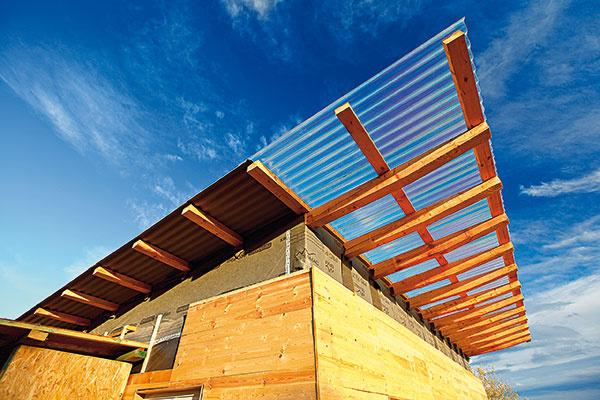 Svojpomocná stavba obnoviteľného domu – diel 6.