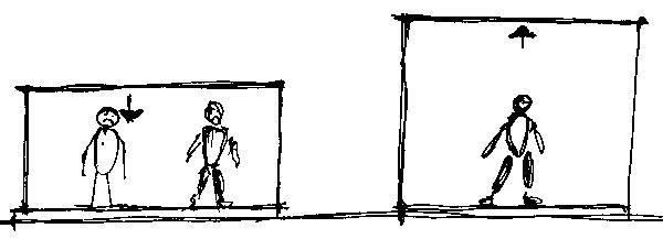 Ak zvýšite strop, aj keď len opár centimetrov, priestor bude pôsobiť vzdušnejšie apriestrannejšie. (perovka: Juraj Tesák)