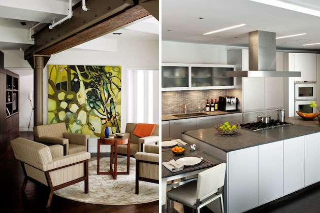 Krásne presvetlený byt plný umeleckých doplnkov a nadčasovej elegancie