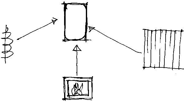 Sokratov trojsystém sa skladá zkachlí, infrapanelov aprirodzeného vykurovania pomocou slnečných   lúčov. (perovka: Juraj Tesák)