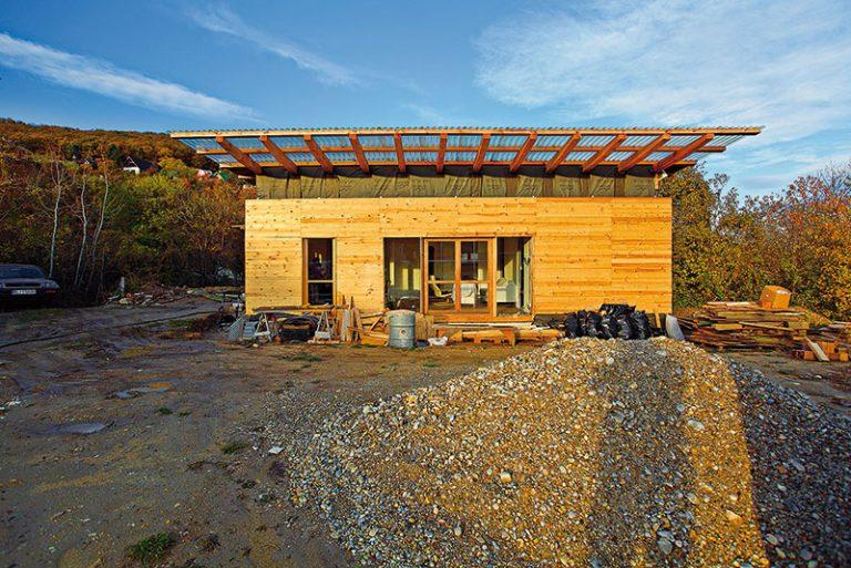 Svojpomocná stavba obnoviteľného domu – diel 8.