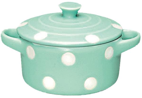 Porcelánová zapekacia forma spokrievkou, priemer 15 cm, výška 5 cm, 7,46 €, www.bellarose.sk