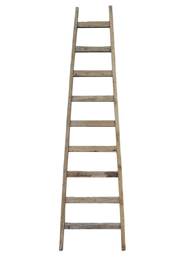 Drevený rebrík, 63,79 €, www.bellarose.sk