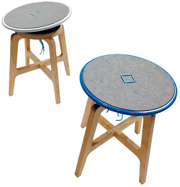 Popýšiť sa mala čím aj Technická univerzita vo Zvolene, ktorá vzastúpení dizajnérskych stoličiek – aktívne sedenie Balance od autora Igora Žaltvaya – oslovila dômyselným vyhotovením, vtipným nápadom apríjemnými ekologickými materiálmi. Tento výrobok bol prezentovaný na súťaži Cena prof. J. Halabalu azískal hneď niekoľko cien. Za zmienku stojí ocenenie od JAVORINA, v. d., Spišská Belá aocenenie od VITRA KONCEPT, s. r. o., Praha.