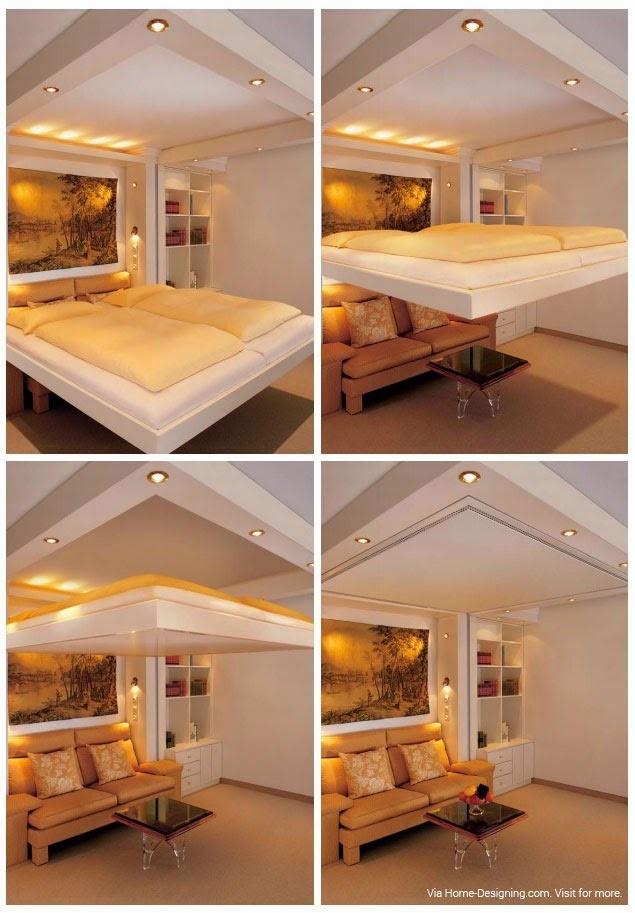 10 originálnych riešení ako umiestniť posteľ