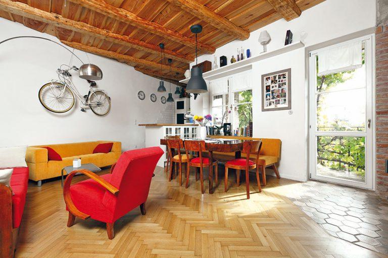 Rekonštrukciou navrátili starému bytu v Piešťanoch pôvab starých časov