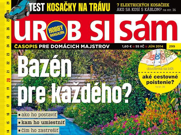 Júnové vydanie časopisu Urob si sám v predaji!