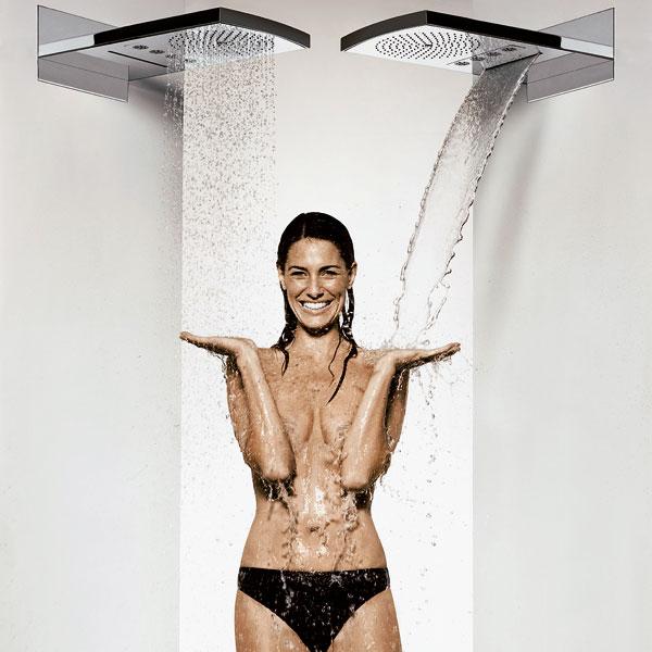 Sprchovanie vo veľkom štýle