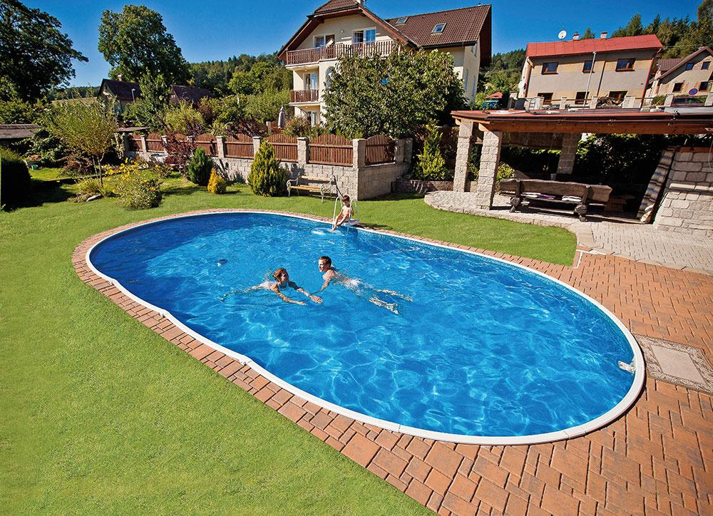 Nadzemný bazén s možnosťou zapustenia do zeme – Azuro