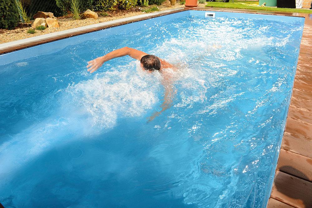 Bazén s protiprúdom