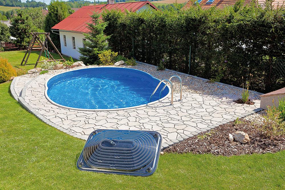 Bazén so solárnym ohrevom