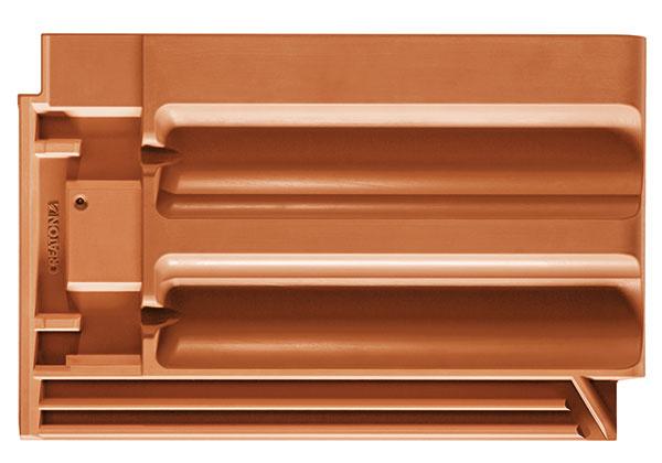 Model Rapido vychádza z tradičného tvaru dvojitej falcovanej  škridly prevedeného do veľkého formátu. Bezpečné uchytenie škridly zaisťujú tri závesné ozuby. Rapido presvedčí ako svojou kvalitou, tak aj cenou – vďaka spotrebe od 8,1ks/m2 ide o cenovo najvýhodnejší model značky Creaton.